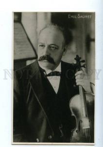 130378 Emil SAURET French violinist COMPOSER old RARE PHOTO