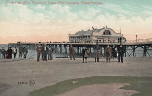 Cleerhorpes , Lincolnshire , England , 1910 ; Pier & New Pavilion