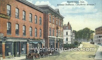 Sherbrooke, Quebec Canada, du Canada Avenue Dufferin  Avenue Dufferin