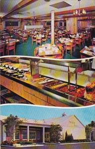 Florida Fort Lauderdale Sweden House Smorgasbord 1955