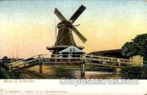 Molen Bij Amsterdam Windmills Postcard Post Cards, Old Vintage Antique  molen...
