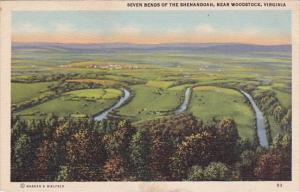 Seven Bends Of The Shenanandoah Woodstock Virgina