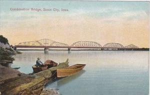Iowa Sioux City Combination Bridge