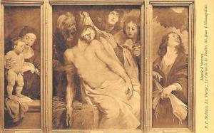 Musee d'Anvers, P.P. Rubens: Vierge, Christ a la Paille; St. Jean L'Evangeliste