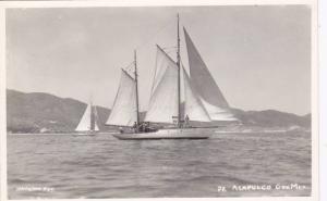 RP, Sailboats, Acapulco, Gro., Mexico, 1930-1950s