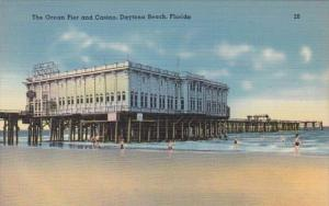 Florida Daytona Beach The Ocean Pier and Casino