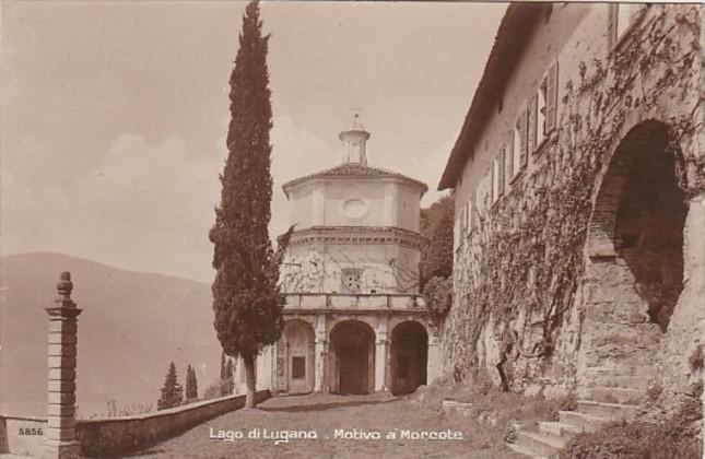 Switzerland Lago di Lugano Motivo a Morcote Photo