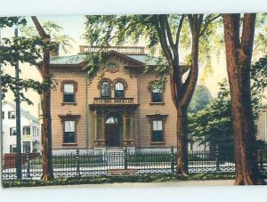 Unused Divided-Back NOW AND THEN CLUB HOUSE Salem - Near Boston MA ho0148@