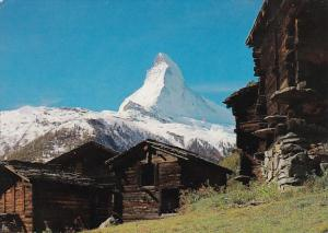 Switzerland Valais Wallis Das Matterhorn