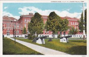 Iowa Cedar Falls Cannon View Iowa State Teachers College Curteich