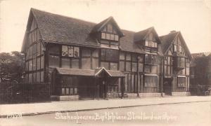 Shakespeares Birthplace House, Stratford on Avon