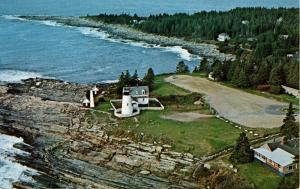 ME - Pemaquid Point. Pemaquid Lighthouse.