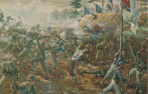 Richmond VA, Civil War Battle, Fort Harrison, Confederate Garrison, Chrome PC