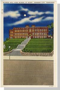 Johnson City, Tennessee/TN Postcard, High School, Near Mint!