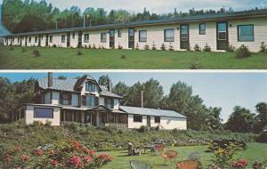 Park Inn & Motel, Paspebiac, Quebec, Canada, 40-60s