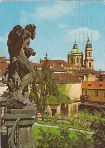 Czechoslovakia Praha Saint Nicolas Cathedral