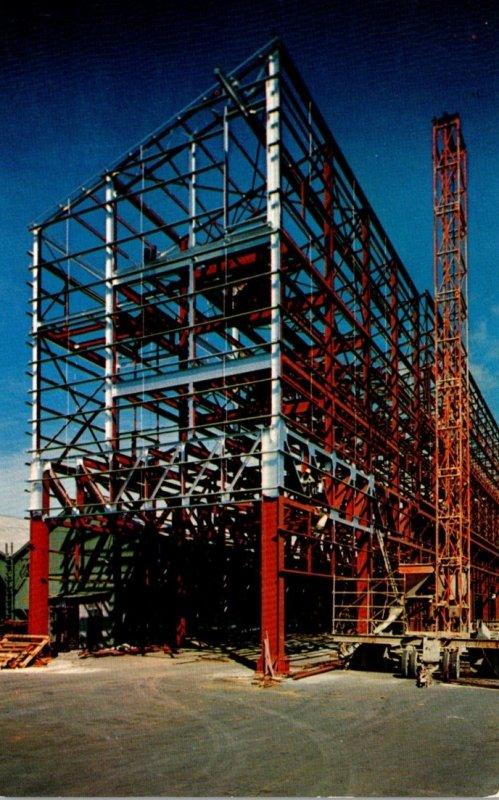 Hawaii Oahu Two Million Dollar Bulk Raw Sugar Storage Plant Under Construction
