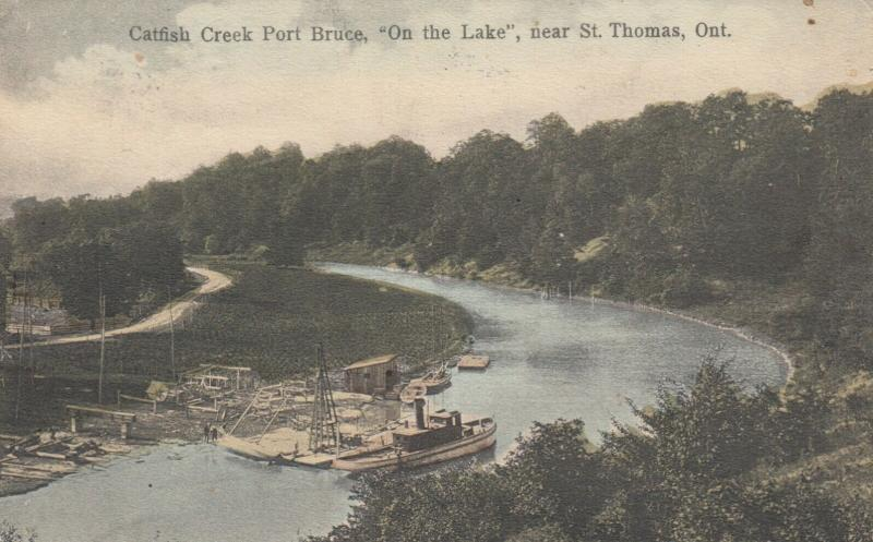 ST THOMAS , Ontario , Canada , 1907 ; Catfish Creek