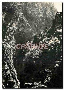 Modern Postcard Route des Grandes Alpes Gorges Daluis