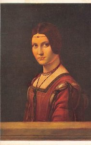 Leonard de Vinci Art Unused paper wear on back
