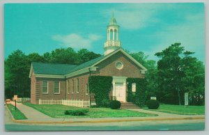 Rehoboth Beach Delaware~Westminster Presbyterian Church~Vintage Postcard