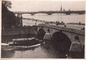 Polish Poland Ship Antique Real Photo Postcard Please Read