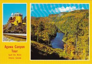 Canada Ontario Agawa Canyon With Algoma Central Railway