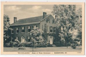 Wickland, Bardstown KY
