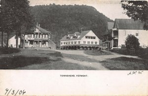 View of Townshend, Vermont, 1906 postcard, undivided back, unused