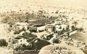 Camelback Inn Resort Phoenix Arizona 1940s RPPC Photo Postcard Cook 7854