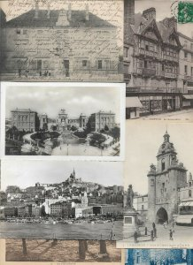 France - Postcard Lot of 50 With Some RPPC  01.02