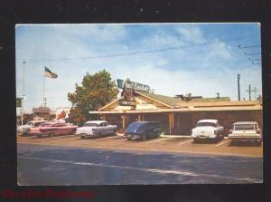 MADERA CALIFORNIA ROUTE 66 FRUIT BASKET STORE 1950's CARS