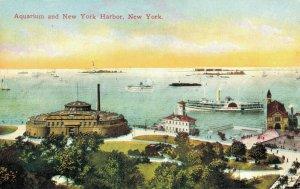 USA - Aquarium and New York Harbor New York 04.31