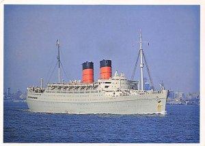 SS Mauretania Cunard Line Ship Unused