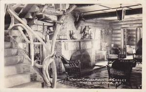 RP; Interior Grouse Mountain Chalet, North Vancouver, B.C. , Canada , PU-1941