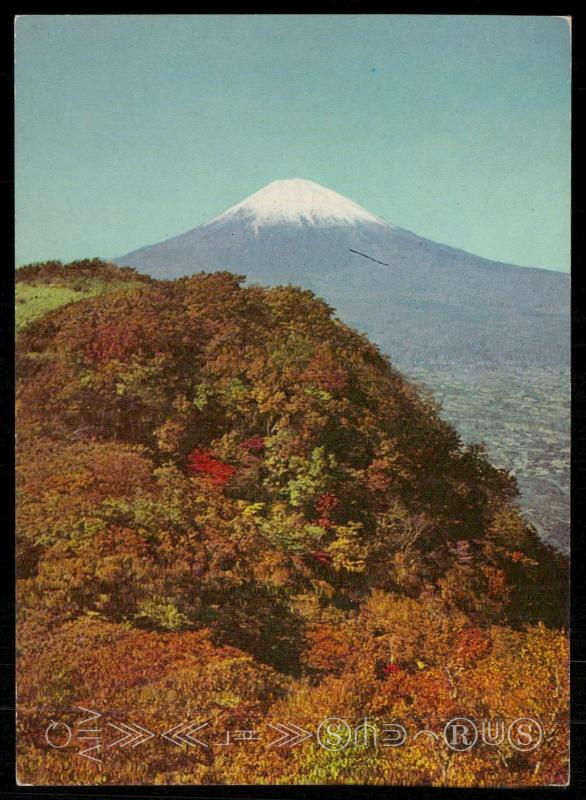 Snow-capped Fuji