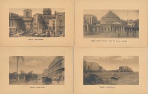 (6 cards) Views at Napoli - Naples, Italy - DB
