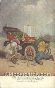 No 12 Roosevelt Bears Take an Auto Ride, Bear Postcard Post Card Old Vintage ...