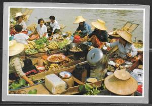 Thailand, Ayudthyo, floating market, mailed
