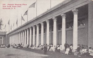 SYRACUSE, New York, 1900-1910s; Popular Resting Place, New York State Fair