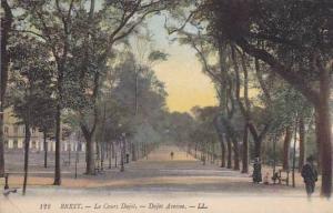 Dajot Avenue, Brest (Finistere), France, 1900-1910s