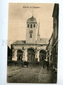 247904 FRANCE VOUZIERS church german WWI military post #54