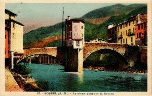 CPA Sospel- Le Vieux Pont sur la Bevera FRANCE (1004760)