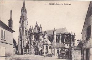 France Senlis La Cathedrale