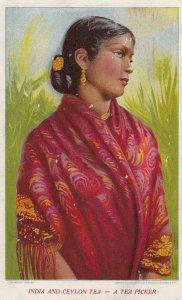 A Tea Picker , India (& Ceylon) , 00-10s
