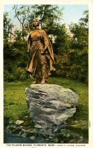 MA - Plymouth. The Pilgrim Maiden