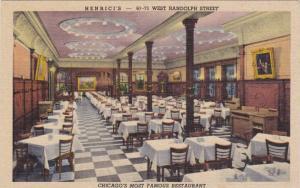Interior Of Henrici's Restaurant, Chicago, Illinois, 1930-1940s