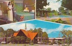 Louisiana Lafayette Howard Johnsons Motor Lodge