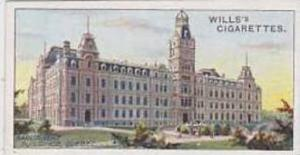 Wills Vintage Cigarette Card 1914 Overseas Dominions Canada No 38 Parliament ...