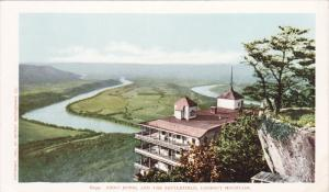 Tennessee , 1900-1910´s; Point Hotel And The Battlefield, Lookout Mountain